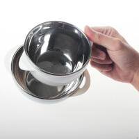 儿童餐具饭碗汤碗加盖不锈钢婴儿辅食碗宝宝饭碗防摔防烫辅食碗 ij8