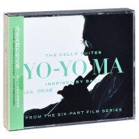 正版 马友友:巴哈灵感 2CD唱片 大提琴古典音乐专辑