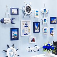 20180823022518398创意地中海照片墙客厅实木相框墙挂墙卧室相片墙组合背景欧式