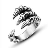 个性戒指男士 钛钢指环韩版潮男单身戒子饰品配饰