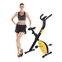 跑步机式自行车 动感单车家用静音健身车健身器材室内脚踏车跑步机式自行车运动HW 乳白色 基本款白色不带表