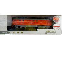 儿童仿真火车模型东风4B蒸汽火车声光内燃机车轨道绿皮蒸汽火车男孩玩具礼物