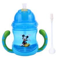 迪士尼(Disney)萌趣学饮杯 双柄儿童水杯210ML