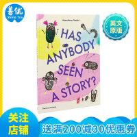 【T&H】Has Anybody Seen a Story?有人看过这个故事吗? 英文艺术绘本