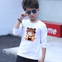 新款男童长袖T恤中大童纯棉童装儿童春装