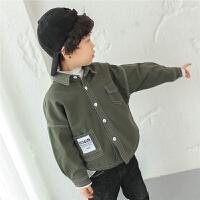 男童加�q�r衫2017新款�n版冬季�和��r衣�L袖冬�b������松百搭保暖