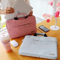 男女手提笔记本电脑包防刮苹果联想小米内胆包