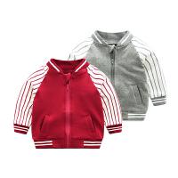 婴童装男宝宝春装3外套装2婴儿卫衣服0洋气1岁春秋