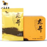 八马茶叶 明前龙井新茶 绿茶便携装铁盒装16g