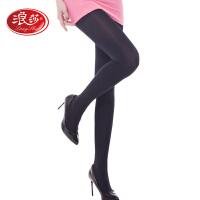 【1条装】浪莎丝袜女200D薄款天鹅绒连裤袜防勾丝春季美腿袜打底袜子女