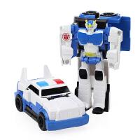 变形玩具金刚5 一步变身汽车机器人擎天大黄蜂儿童男孩礼物模型