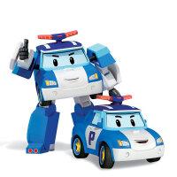 益智玩具Silverlit银辉玩具 变形警车珀利Poli变形机器人动漫模型 男孩女孩 珀利变形机器人 83171 均码