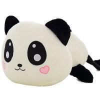 女生睡觉抱枕毛绒玩具可爱趴趴熊抱枕公仔布娃娃熊猫抱抱熊