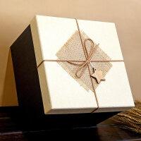 正方形礼品盒超大伴手礼礼物盒大号礼物包装盒生日*盒包装盒子 抖音