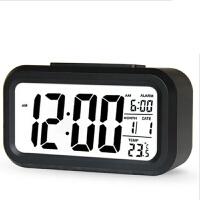 闹钟 家用卧室懒人贪睡智能夜光聪明钟2020学生用床头静音夜光多功能创意儿童钟表