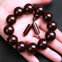 印度木手串2.0老料满金星高油密顺纹108颗男女佛珠手链