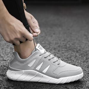 2017冬季新款增高男鞋子潮流韩版男士运动休闲鞋百搭学生板鞋跑步