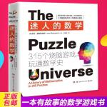 迷人的数学 一本有故事的数学游戏书 315个烧脑游戏开发大脑潜能呈现数学之美 玩通数学史大脑游戏天书数学头脑开发益智游