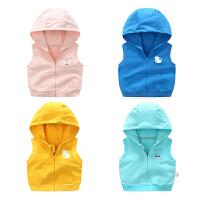 女宝宝春秋季3个月1岁男童婴儿童马甲秋款小童装秋装秋冬装外套装