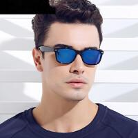 小框男士偏光太阳镜 女近视彩膜复古墨镜司机开车方框眼镜驾驶镜