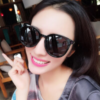 太阳镜女圆脸韩版潮偏光眼镜个性时尚休闲墨镜复古优雅