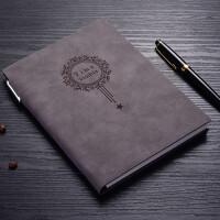 【用券立减30元】乌龟先森 笔记本 a5复古皮面笔记本文具本子带笔办公用学生用记事本定制简约日记本