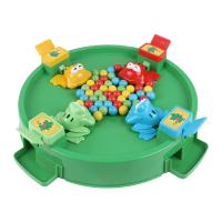 抖音同款儿童青蛙吃豆玩具大号桌面贪吃珠益智吃球亲子游戏 u9a