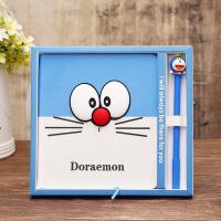 创意笔记本叮叮蓝胖子叮当猫本子记事本学生礼品礼盒情人节礼物