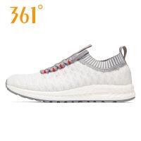 【5元无门槛 满99减10 199减20】361度女鞋运动鞋新款韩版时尚针织潮透气休闲鞋N