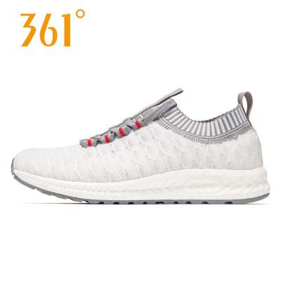 【每满100减50】361女鞋 运动鞋新款韩版时尚针织潮透气休闲鞋N