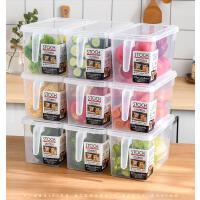 【支持礼品卡】厨房冰箱保鲜收纳盒抽屉式神器塑料盒子透明储存谷物蔬菜的食品盒 x9z