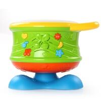 男孩宝宝早教益智儿童手拍鼓发光音乐拍拍鼓0-1岁宝宝玩具