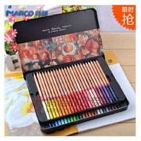 秘密花园 涂色笔 马可雷诺阿3100进口铅芯专业3100-24TN 36TN 48TN色油性彩色铅笔铁盒彩铅套装,雷诺阿系列彩铅 是飞乐鸟、花之绘书本上介绍的哦!