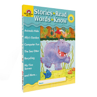 Evan Moor Stories To Read Words to Know Level G 加州教辅 阅读学词汇系
