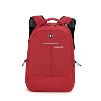 男女通用 商务背包双肩包男女士休闲旅行包简约15.6寸电脑包 15寸