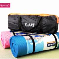 15MM加厚瑜伽垫防滑环保男女瑜珈垫运动健身垫仰卧起坐垫 15mm(初学者)