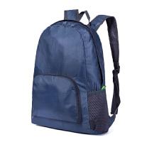 水韩版登山皮肤背包户外男女可折叠双肩包便携旅行休闲学生书包
