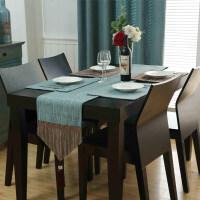 欧式餐桌桌旗茶几餐垫装饰布桌巾电视柜西餐桌棉麻隔热垫碗垫鞋柜