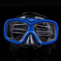 浮潜眼镜 专业游泳眼镜男女护鼻浮潜用具 潜水装备面罩护鼻HW 03深
