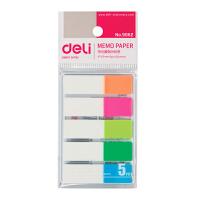 得力文具 deli 9062 得力荧光指示标贴 彩色百事贴 记事贴 便利贴
