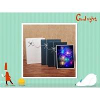 装毛衣相框书本礼盒精美生日包装盒大号复古清新礼品盒定制印LOGO +礼袋+彩灯
