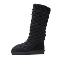一件UU新款年冬季真皮雪地靴羊皮毛一体中筒女靴