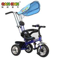 灿成童车 儿童户外运动三轮车婴儿手推车宝宝遮阳脚踏车