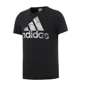 adidas阿迪达斯男装短袖T恤2018年新款运动服S98716