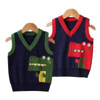 男童毛衣背心马甲春秋装新款儿童针织衫马甲