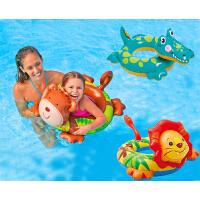 儿童游泳圈救生圈坐圈宝宝充气泳圈腋下圈加厚浮圈2-6岁