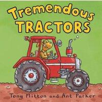 【现货】英文原版 神奇的机器:拖拉机 Amazing Machines: Tremendous Tractors 认知