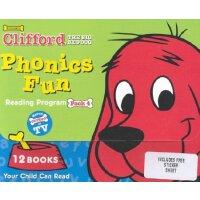 Clifford Phonics Fun Pack 4 (12 books)大红狗趣味英语Phonics第四级(12本书