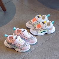 女童运动鞋2020春秋新款儿童网面透气轻便跑步鞋