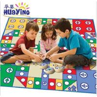 正品华婴小号 儿童益智飞行棋游戏地毯地垫 爬行毯 子两人玩